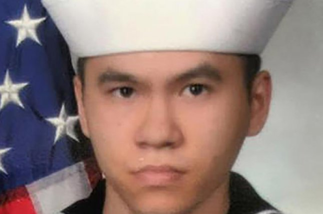 A photo of Sonar Technician 3rd Class Ngoc T Truong Huynh, 25, from Oakville, Conn., released Monday by the U.S. Navy. Huynh was one of seven sailors killed when the Arleigh Burke-class guided-missile destroyer USS Fitzgerald (DDG 62) was involved in a collision with the Philippine-flagged merchant vessel ACX Crystal on Friday. Photo by U.S. Navy/UPI