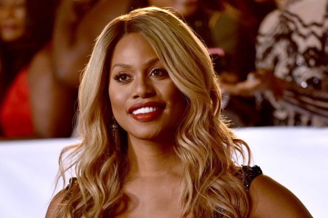 Laverne Cox appears on the February cover of Cosmopolitan South Africa. File Photo by Christine Chew/UPI