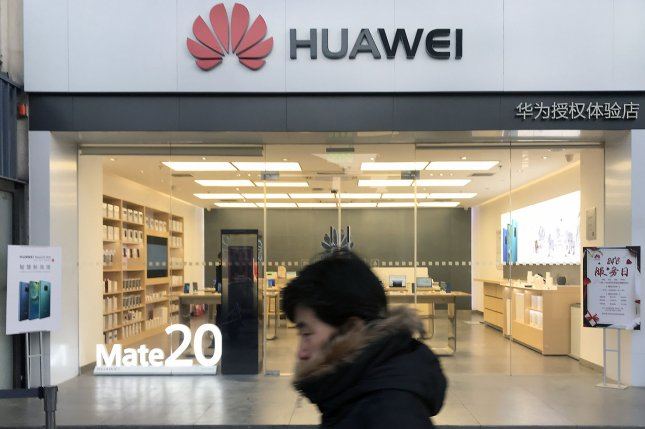Britain in July ordered domestic telecoms to remove all Huawei equipment from its 5G networks by 2027. Photo by Stephen Shaver/UPI