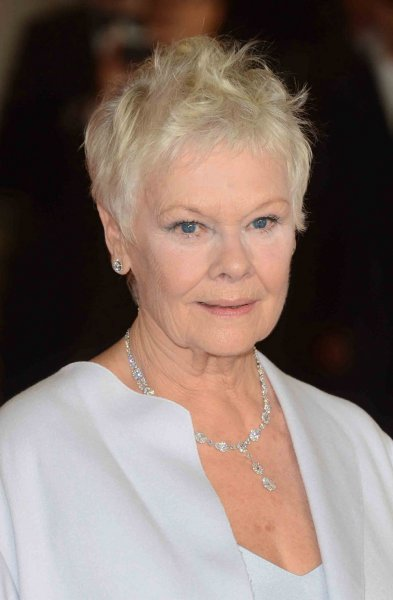 English actress Dame Judi Dench attends The Royal World Premiere of Skyfall at The Royal Albert Hall in London on October 23, 2012. UPI/Paul Treadway..