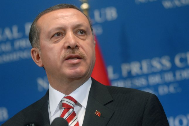 Turkish President Recep Tayyip Erdogan, pictured here in 2007 while serving as prime minister, on Sept. 29, 2015 said an overnight, cross-border operation into northern Iraq resulted in the deaths of 30 militants with the Kurdistan Workers' Party, or PKK. File photo by Kevin Dietsch/UPI