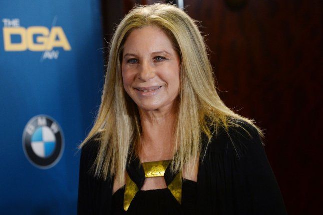 Actress and singer Barbara Streisand appears backstage during the 67th annual Directors Guild of America Awards in Los Angeles on February 7, 2015. The iconic entertainer recently discussed her decades long career at the Tribeca Film Festival. File Photo by Jim Ruymen/UPI