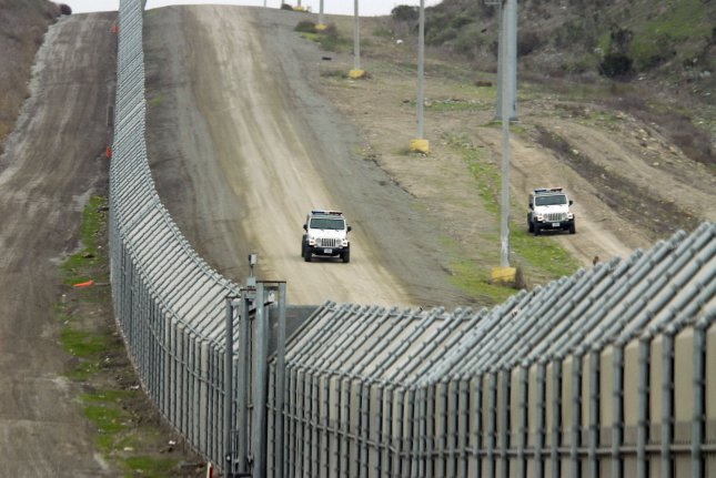 Wednesday, California officials filed a lawsuit against the Trump administration over plans to build a wall along the entire U.S.-Mexico border. File photo by Earl Cryer/UPI