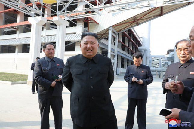 The proportion of North Korea capital stock devoted to facility assets has stayed low, indicating infrastructure is not being updated or modernized, the South's Bank of Korea says. File Photo by KCNA/UPI