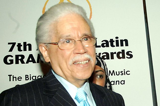 Johnny Pacheco, the co-founder of Fania Records, has died at the age of 85. File Photo by Ezio Petersen/UPI