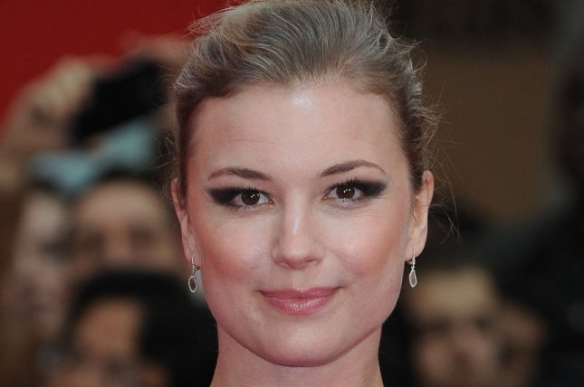 Emily VanCamp talked about filming her Marvel series The Falcon and the Winter Soldier on Jimmy Kimmel Live. File Photo by Paul Treadway/ UPI