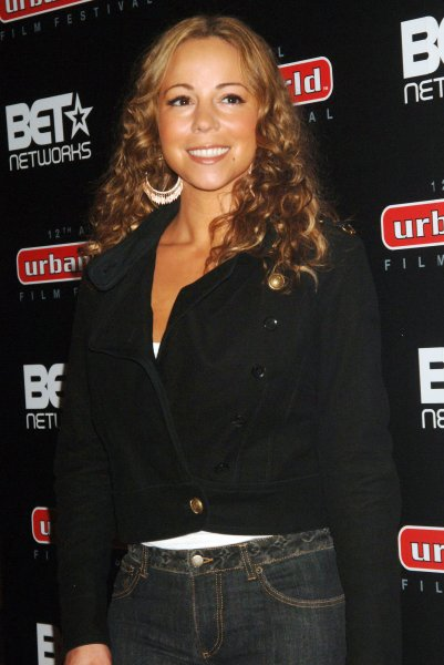 Actress-singer Mariah Carey attends the New York premiere of her new film Tennessee held at the Urbanworld Film festival in New York on September 12, 2008. (UPI Photo/Ezio Petersen)