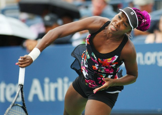 Venus Williams, shown at this year's U.S. Open, posted another win at the Toray Pan Pacific Open and has advanced to the tournament quarterfinals. UPI Photo/Monika Graff