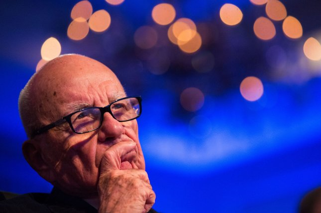 Rupert Murdoch seems to have set in motion succession plans at both News Corp and 21st Century Fox. UPI/Drew Angerer/Pool
