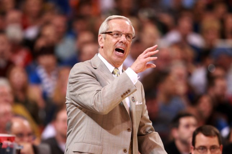 North Carolina Tar Heels basketball coach Roy Williams leads his team as the No.1 seed in the East Region of the 2016 NCAA Tournament. File photo Bill Greenblatt/UPI