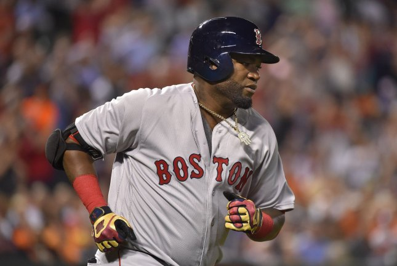Boston Red Sox designated hitter David Ortiz. Photo by David Tulis/UPI