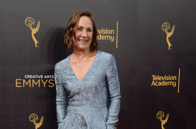 Actress Laurie Metcalf attends the Creative Arts Emmy Awards in Los Angeles on September 10, 2016. Metcalf says she is hoping the planned Roseanne revival actually happens. File Photo by Jim Ruymen/UPI