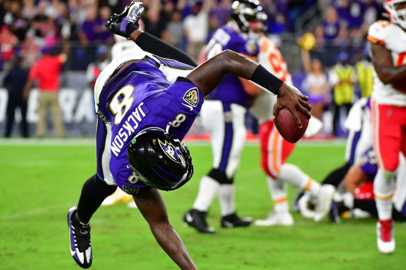 Lamar Jackson leads Ravens over Patrick Mahomes' Chiefs