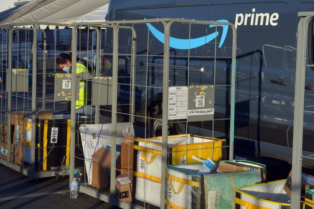 Amazon's CEO said individual managers will determine how often corporate employees can work remotely. File Photo by Jim Ruymen/UPI