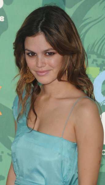 Actress Rachel Bilson attends the 2008 Teen Choice Awards at Universal Studios in Los Angeles on August 3, 2008. (UPI Photo/Jim Ruymen)