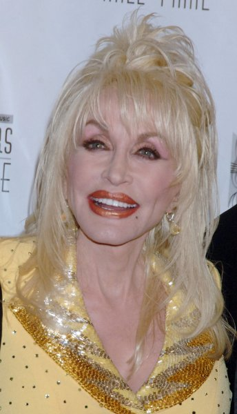 Actress-songwriter Dolly Parton poses for the media before accepting the Johnny Mercer Songwriter Award at the 2007 Songwriters Hall of Fame ceremonies held in New York on June 7, 2007. (UPI Photo/Ezio Petersen)