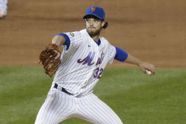 Pitcher Steven Matz is expected to move into the middle or late portion of the order in the Toronto Blue Jays starting rotation after being acquired via trade on Wednesday from the New York Mets. File Photo by John Angelillo/UPI
