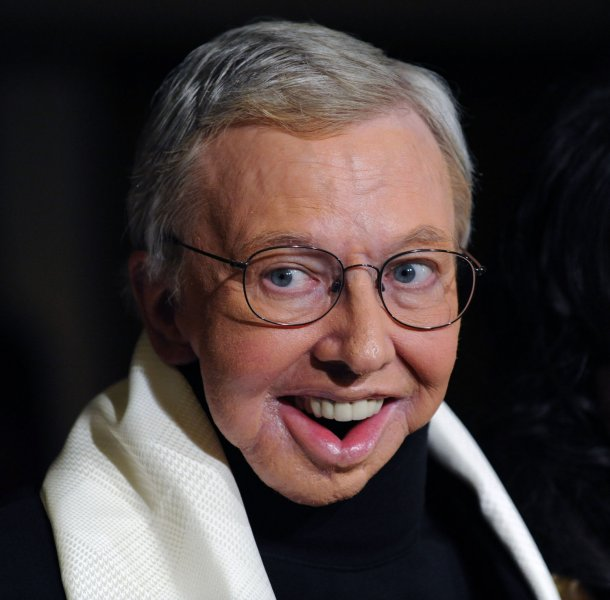 Film critic Roger Ebert arrives at the 61st annual Directors Guild of America Awards in Los Angeles on January 31, 2009. (UPI Photo/Jim Ruymen)