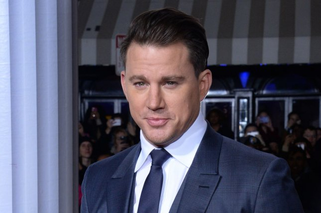 Channing Tatum attending the Hail, Caesar! premiere on February 1, 2016. The star's upcoming X-Men spinoff Gambit is eyeing a spring 2016 start date. File Photo by Jim Ruymen/UPI