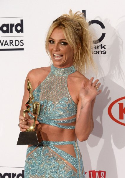 Britney Spears attends the Billboard Music Awards on May 22, 2016. The singer performed the Bonnie Raitt hit Something to Talk About live after defending herself from her detractors. File Photo by Jim Ruymen/UPI