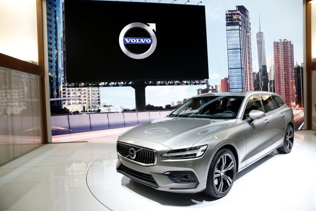 Volvo issued a recall for 507,000 cars worldwide because of a risk of fire. Photo by John Angelillo/UPI
