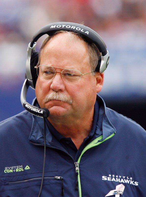 Seattle Seahawks head coach Mike Holmgren