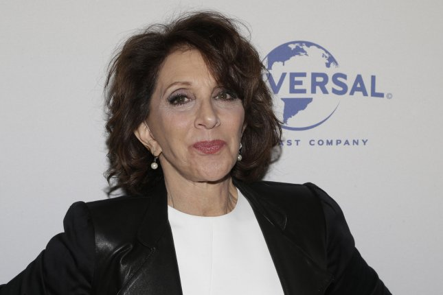 Hairspray Live! actress Andrea Martin is seen at the My Big Fat Greek Wedding 2 New York premiere on March 15, 2016. File Photo by John Angelillo/UPI