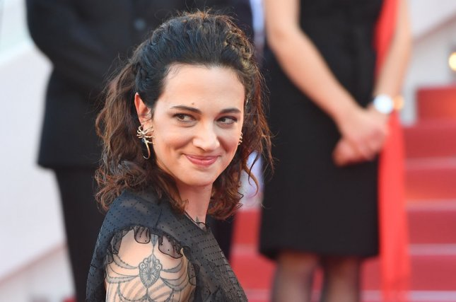 Actress Asia Argento has denied allegations that she sexually assaulted an actor when he was 17. File Photo by Rune Hellestad/ UPI