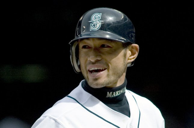 Ichiro Suzuki is no longer on the Seattle Mariners' active roster. File photo by Jim Bryant/UPI