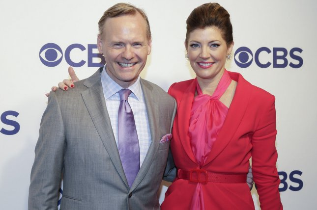 Norah O'Donnell (R) and John Dickerson of CBS This Morning. The duo will be exiting the morning show with O'Donnell moving onto CBS Evening News. File Photo by John Angelillo/UPI