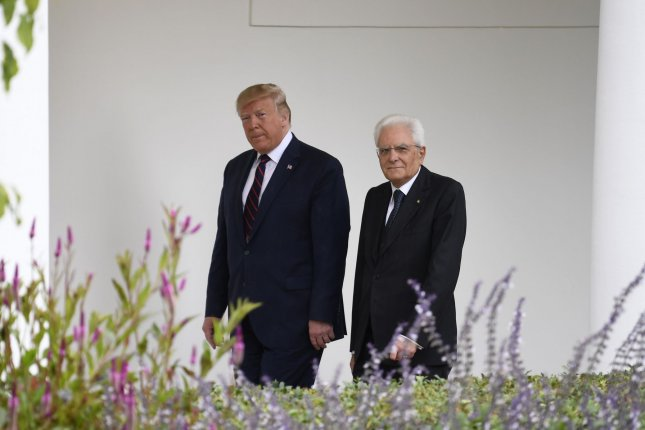 Italian President meets Trump, seeks dialogue on trade