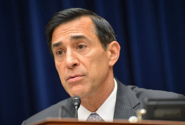 Rep. Darrell Issa (R-CA) presides over a House Oversight and Government Reform Committee hearing on the impact of the Affordable Care Act on job creators and the economy, on Capitol Hill on July 10, 2012 in Washington, D.C. UPI/Kevin Dietsch
