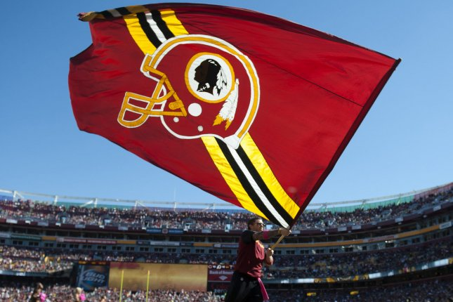 The U.S. Patent Office ruled that the nickname Redskins for the NFL Washington Redskins football team is disparaging of Native Americans that the Federal trademarks for that name must be canceled. (File/UPI/Kevin Dietsch/Files)