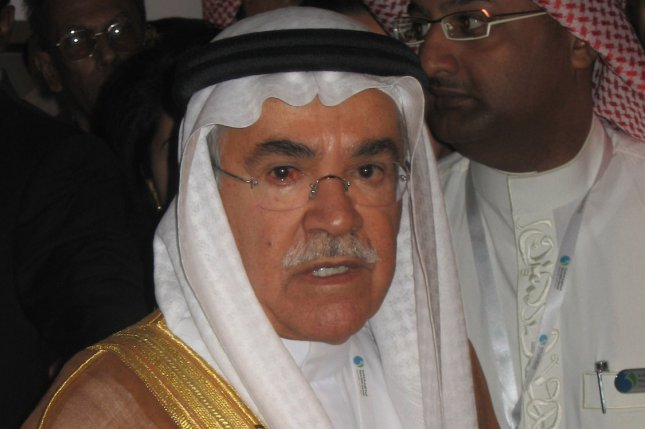 Saudi Arabia facing rough year amid regional security risks and a weak market for crude oil, analysis from RBC Capital Markets finds. Pictured, Ali Al-Naimi, Minister of Petroleum of Saudi Arabia. File photo by Ben Lando/UPI