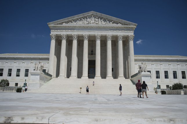 The Supreme Court ruled 5-4 Tuesday that workers cannot seek class arbitration to settle disputes with their employer unless it is explicitly stated in their contracts. File Photo by Pete Marovich/UPI