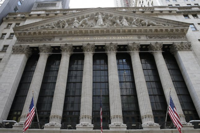 The S&P 500 closed the day down 26.78 points after nearing a record high earlier in the day, as tech stocks dragged markets down to close the day. File Photo by John Angelillo/UPI