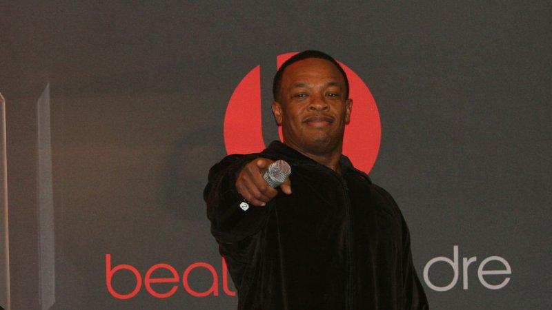 Dr. Dre in 2008. (UPI Photo/Daniel Gluskoter)