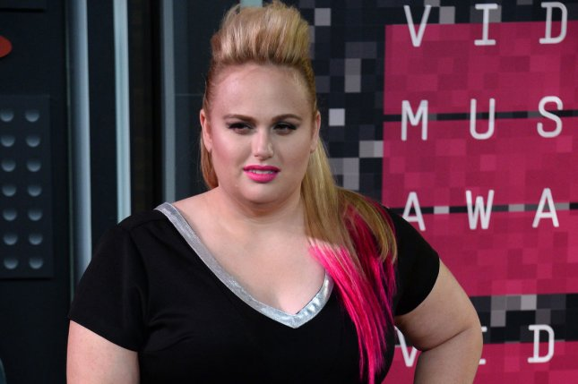 Actress Rebel Wilson arrives on the red carpet for the 32nd annual MTV Video Music Awards at Microsoft Theater in Los Angeles on Aug. 30, 2015. Photo by Jim Ruymen/UPI