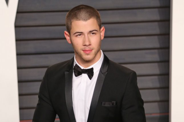 Nick Jonas at the Vanity Fair Oscar party on February 28. The singer explained his purity ring commitment in an interview Thursday. File Photo by David Silpa/UPI
