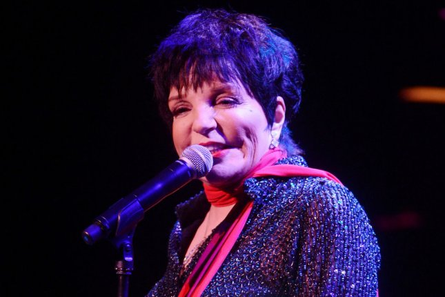 Liza Minnelli will celebrate her 75th birthday during a virtual event featuring Tony Hale, Lily Tomlin and more. File Photo by Rune Hellestad/UPI