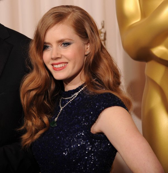Actress Amy Adams appears backstage at the 83rd annual Academy Awards in Hollywood on February 27, 2011. UPI/Jim Ruymen