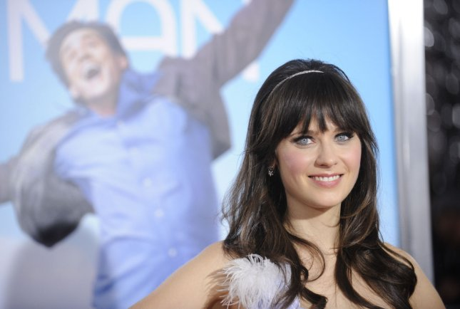 Cast member Zooey Deschanel attends the premiere of the film Yes Man in Los Angeles on December 17, 2008. (UPI Photo/ Phil McCarten)