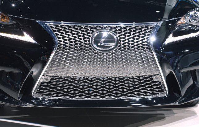 A 2014 Lexus IS350 F Sport is on display at the 2013 Los Angeles Auto Show held at the Convention Center in Los Angeles, California on November 20, 2013. UPI/Phil McCarten
