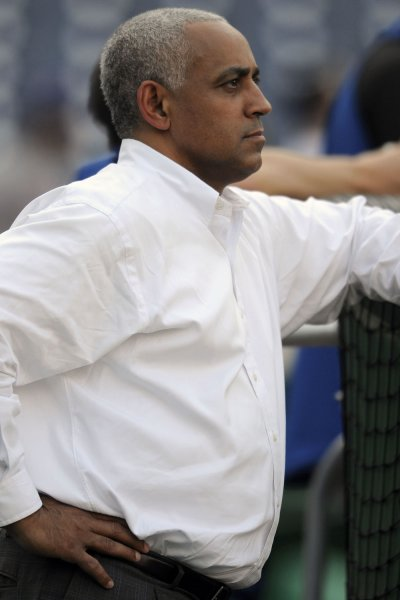 Former New York Mets general manager Omar Minaya is headed back to the team in an advisory role. File photo by Mark Goldman/UPI