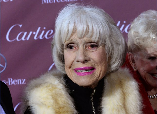 Carol Channing has died at the age of 97. File Photo by Jim Ruymen/UPI