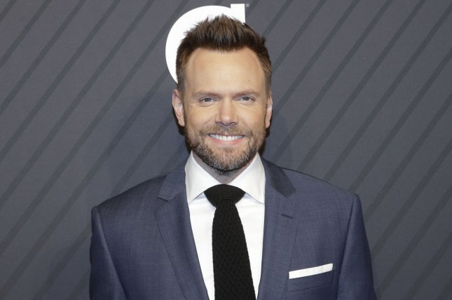 Comedian Joel McHale, whose first stand-up special, Live from Pyongyang, released Tuesday, said he doesn't shy away from controversial subjects in his comedy, because you just can't avoid subjects like politics in the world today. File Photo by John Angelillo/UPI