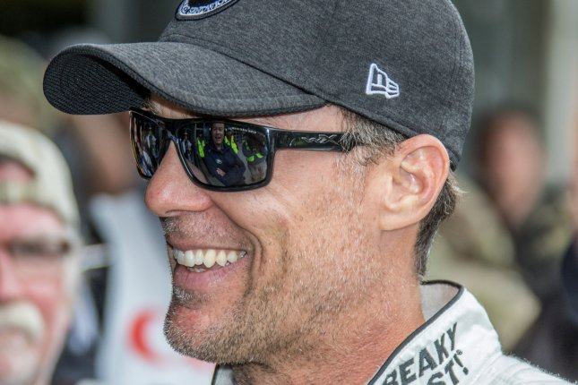 Kevin Harvick has two wins this season and is in fifth place in the 2019 Monster Energy NASCAR Cup Series standings. File Photo by Edwin Locke/UPI