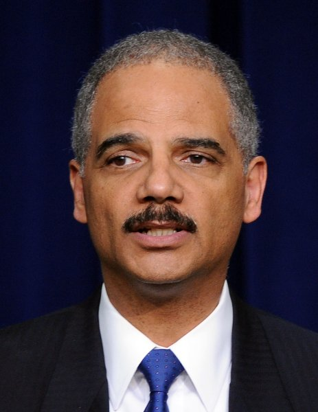 Guns lost in the Operation Fast and Furious anti-firearms trafficking operation will show up at crime scenes for years, U.S. Attorney General Eric Holder said. UPI/Roger L. Wollenberg