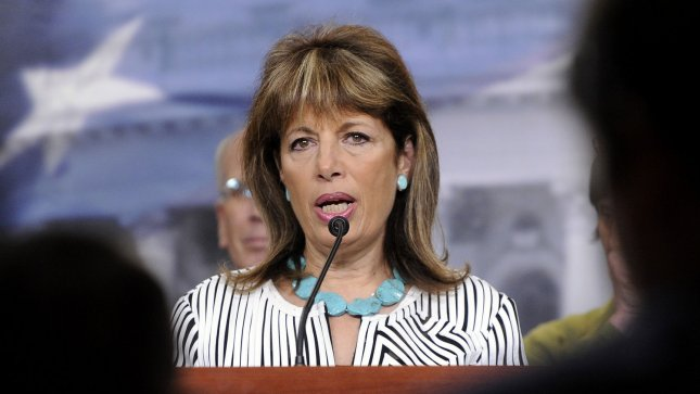 Rep. Jackie Speier (March 26, 2011 file photo). UPI/Roger L. Wollenberg