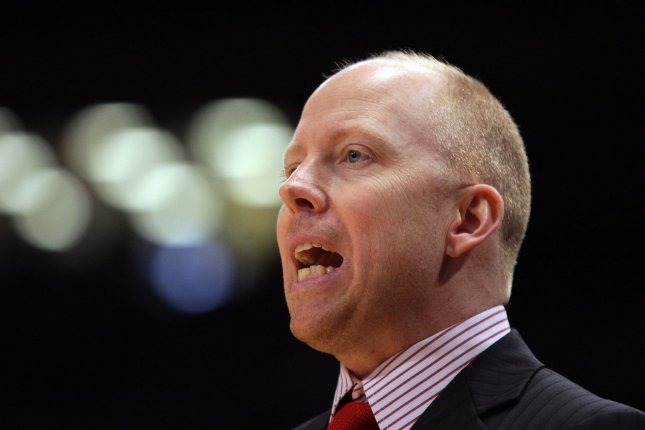 Men's basketball coach Mick Cronin took the head coaching job at UCLA on Tuesday, despite being under contract with the University of Cincinnati through the 2022-2023 season. File Photo by John Angelillo/UPI